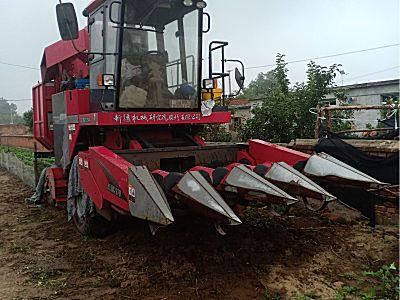 牧神4YZB-4玉米收获机