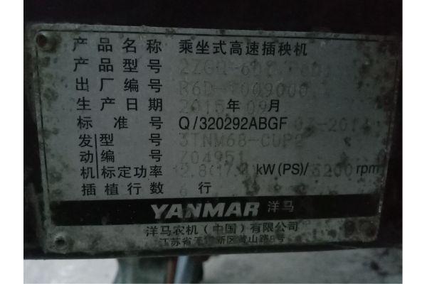 洋马VP6D乘坐式水稻插秧机