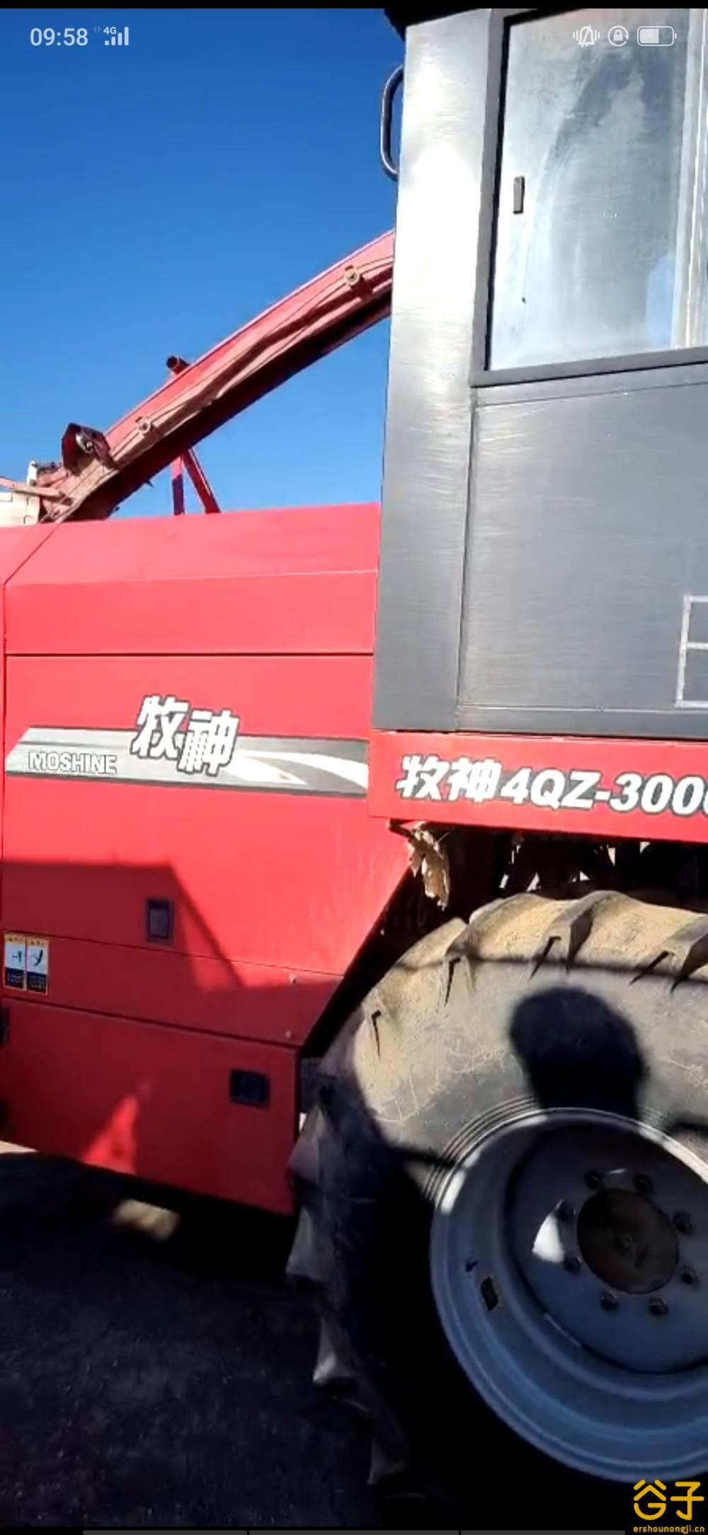 新疆牧神4QZ-3000A贮饲料收获机