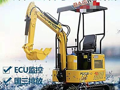 百世威机械PC1520柴油机挖机