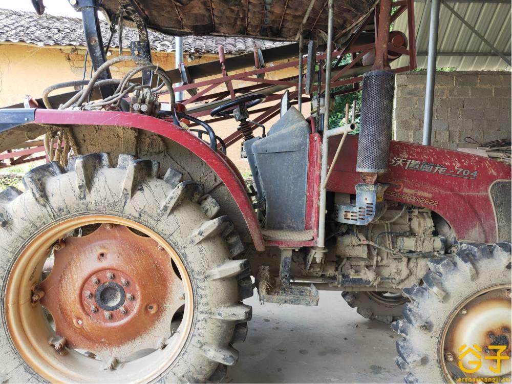沃得704拖拉机
