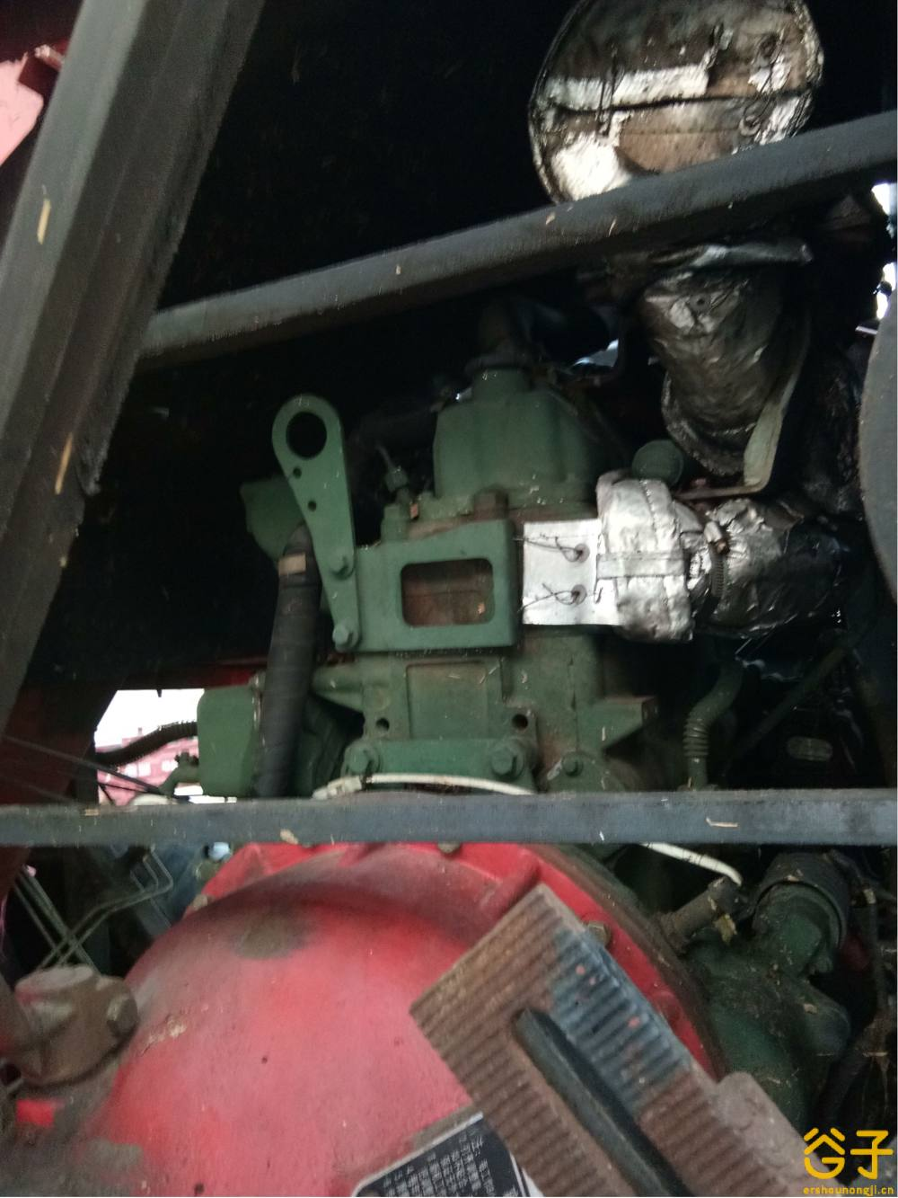 博远4YZ-4B玉米联合收获机