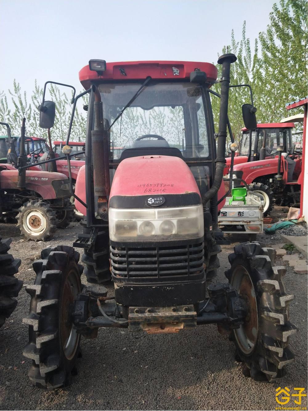 东汽654轮式拖拉机