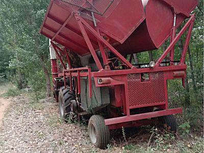 豪特4YZQP茎穗兼收玉米收获机