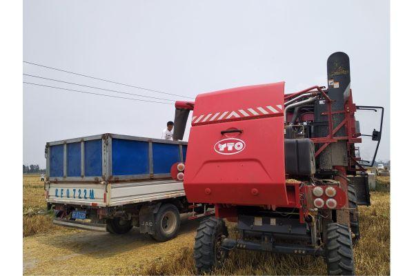 东方红4LZ-8B1谷物联合收割机