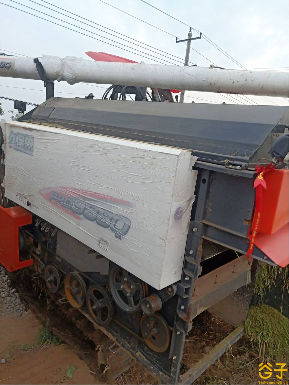 久保田PRO988履带收割机