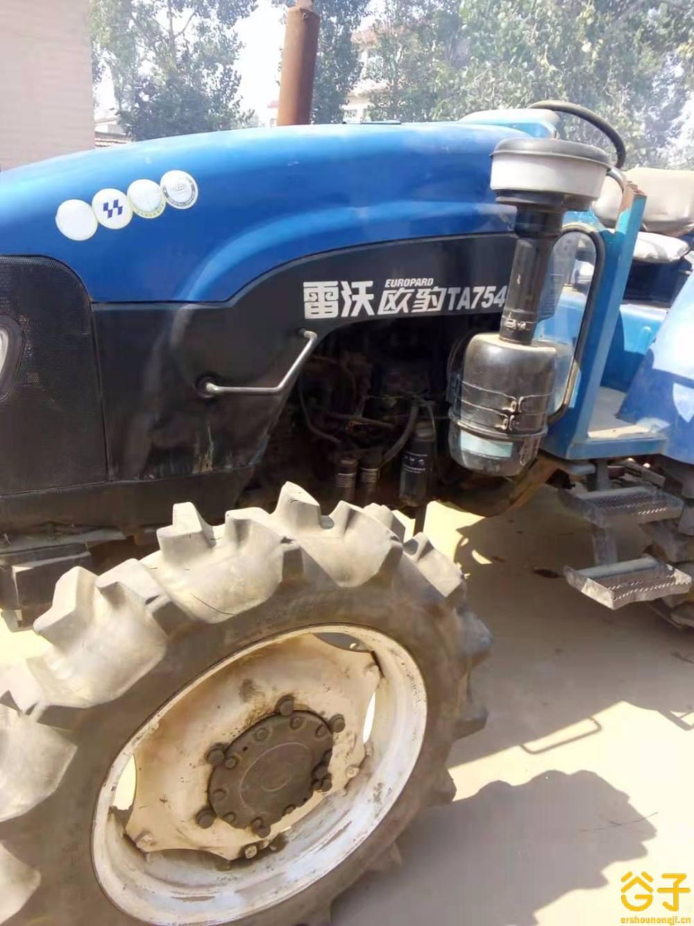 福田雷沃754拖拉机