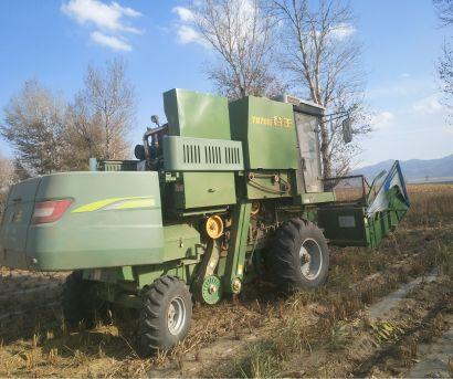 谷王TB70谷子小麦玉米机联合收割机