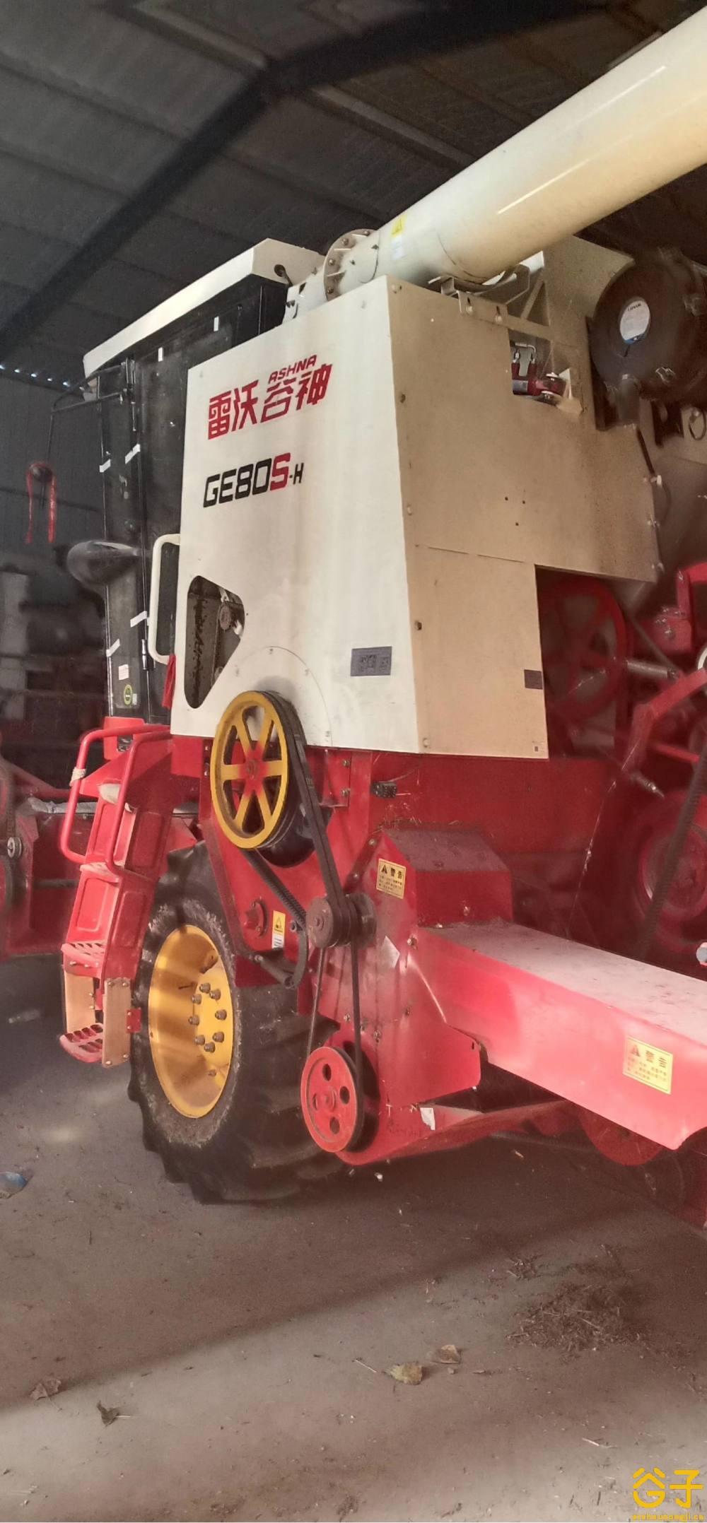 福田19年类80S-H小麦收割机