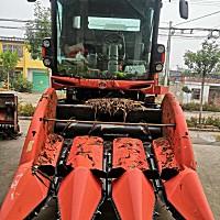 久保田玉米收1408三行收割機