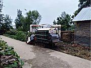 沃得4LZ-5水稻收割機