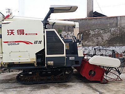 沃得锐龙4LZ-5收割机