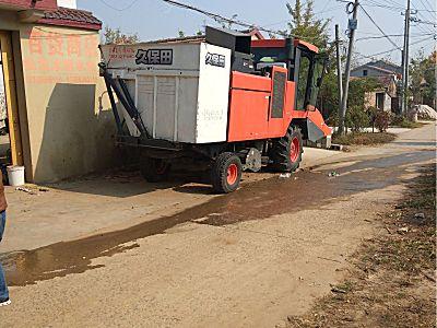 久保田1408Y玉米收割机