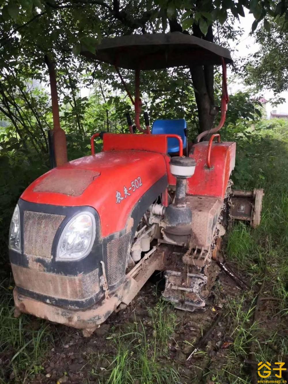 农夫502履带拖拉机