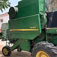 約翰迪爾W80收割機