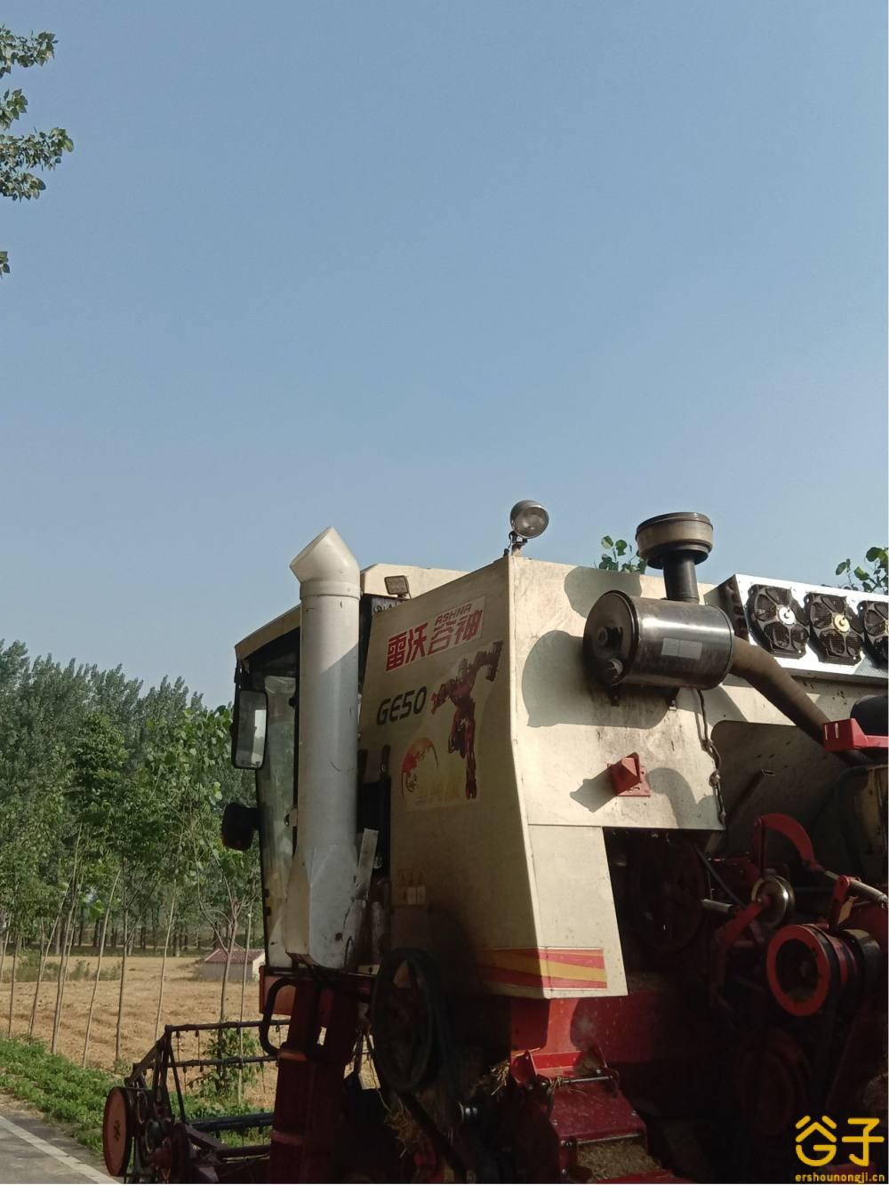 雷沃谷神GE50收割机