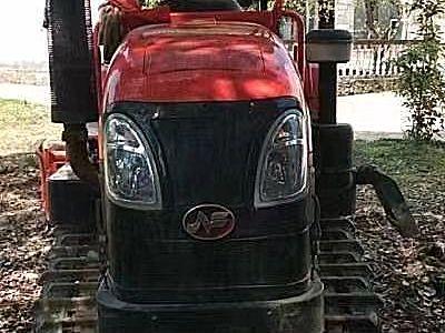 农夫702履带拖拉机农带旋耕机