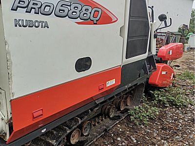 久保田688收割机