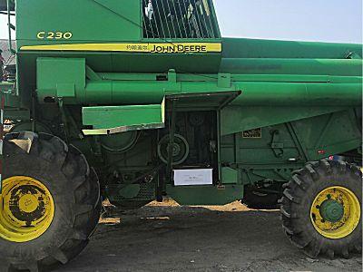 约翰迪尔c230水稻收割机