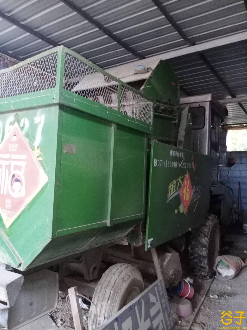金大风4YZP-3玉米收割机