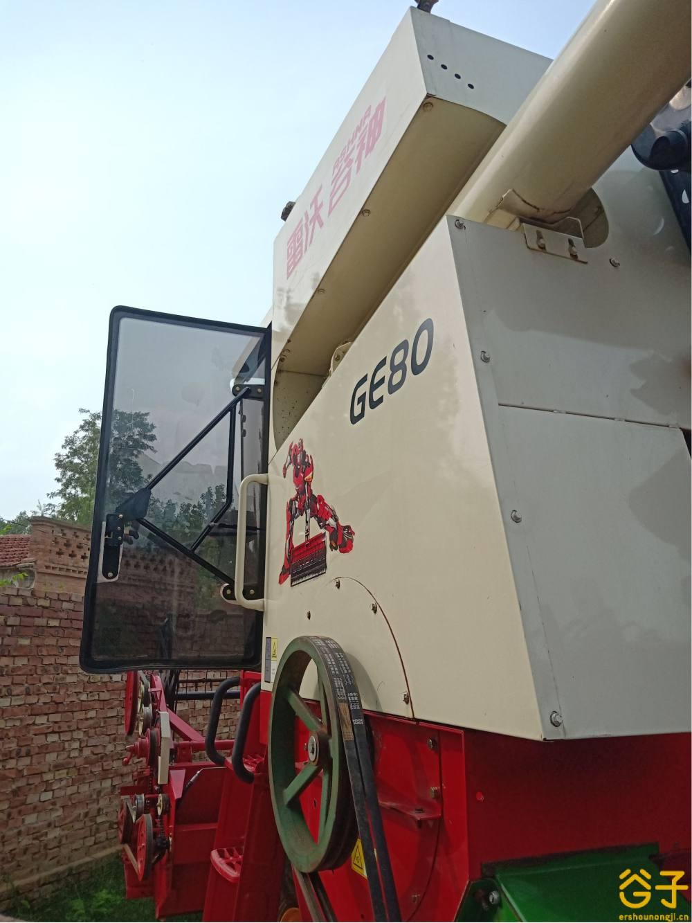 雷沃GE80小麦收割机