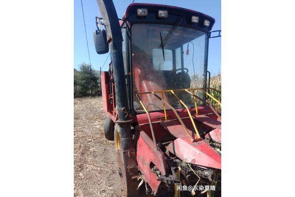 河北圣牛4YZB-3茎惠兼收玉米收割机