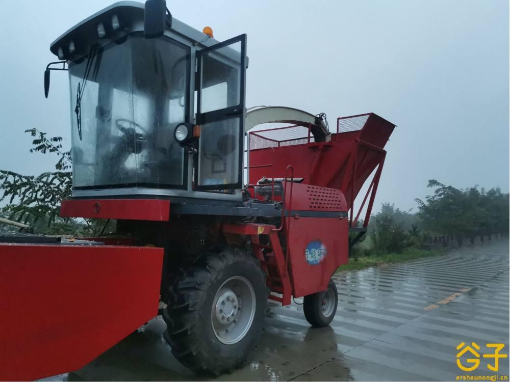 利军9QZ-2200型自走式青饲料收获机