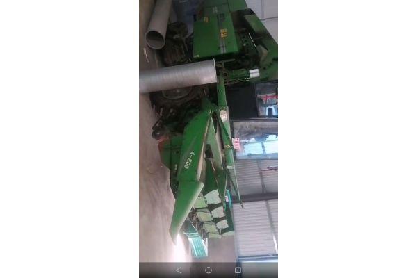 迪马4行玉米收割机