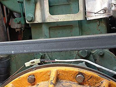 哈克三行玉米收割机