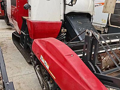 二手洋马AW85G(4LZ-3.0A)全喂入稻麦联合收割机